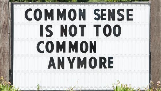 Coaching for Common Sense
