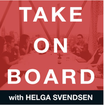 Take On Board Podcast Logo
