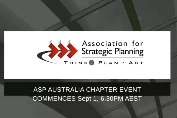 Mindshifts Strategic Planning Australia Webinar