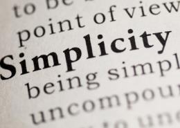 Simplicity Principle